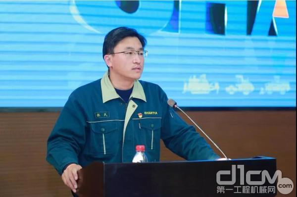山推股份党委书记、总经理张民