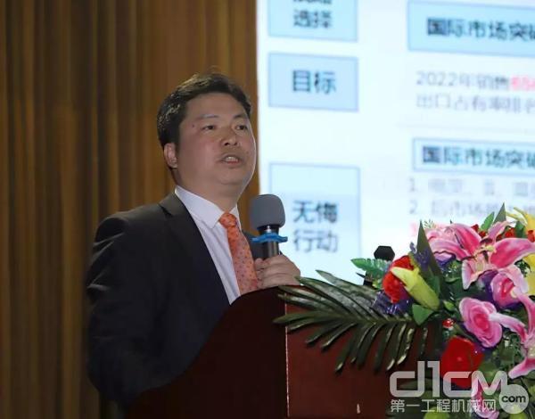 广西柳工机械股份有限企业副总裁、柳工叉车董事长王太平