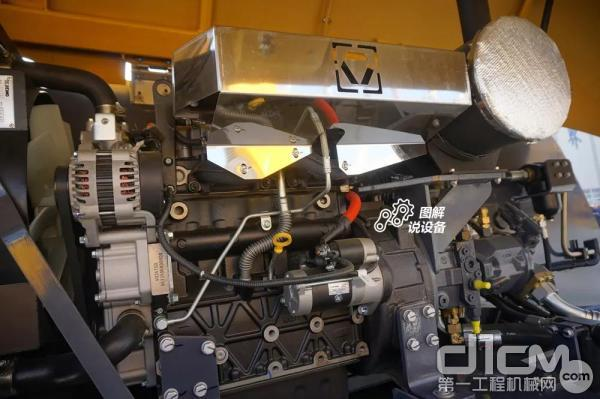 选用福田康明斯QSF2.8 71发动机
