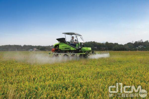 ▲大数据驱动农机按需作业