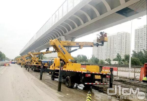 徐工高空作业车奔赴北京为大兴机场建设保驾护航