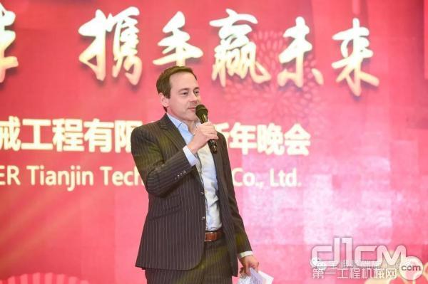 宝峨集团股份有限企业CEO Michael Stomberg 先生