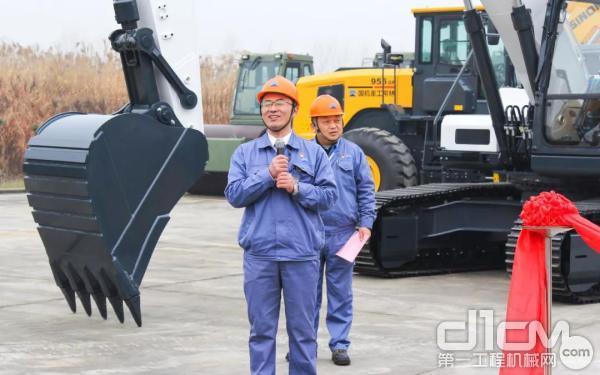 国机重工集团常林有限企业总经理、党委副书记孔凡宏讲话