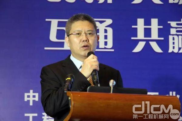 中国365bet体育工业协会365bet体育配套件分会会长宫立强致辞