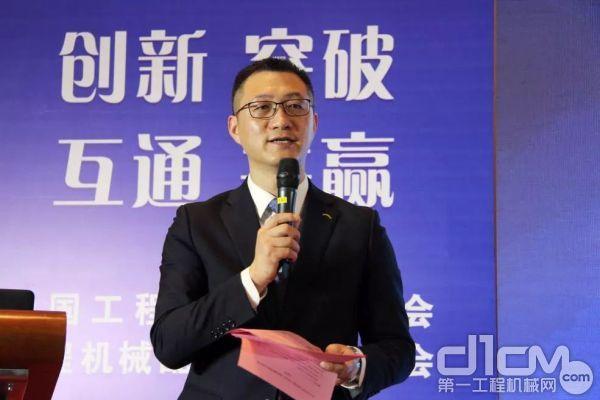 杭州前进齿轮箱集团股份有限企业的党委副书记、副总经理侯波