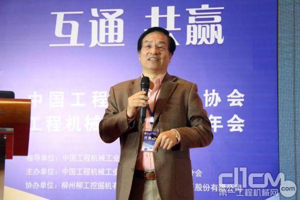杭州好机惠信息技术有限企业CEO钱光辉先生作主题演讲