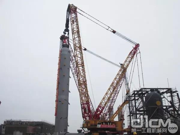 泉州炼油基地 吊重1340吨