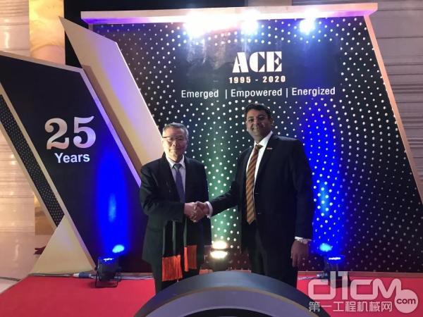 山河智能董事长何清华受邀出席ACE成立25周年庆典