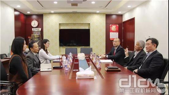 川崎精密总经理陈爱明一行到访协会