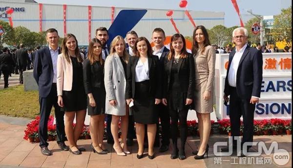 柳工集团积极拓展国际业务