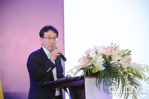 株式会社小松制作所(即小松集团)社长兼CEO小川啓之致辞