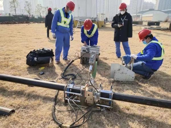 徐工XZ420E在雷神山医院项目中施工