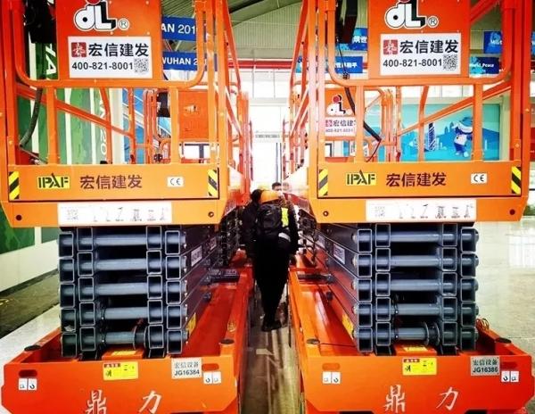 助力武汉雷神山医院建设项目的鼎力设备