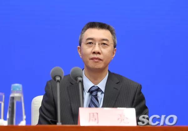 银保监会副主席周亮(刘健 摄)
