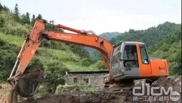 日立建机ZX-5A挖掘机如何正确保养维护