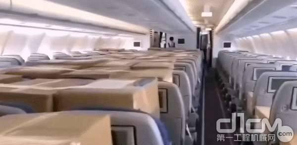 """坐满""""乘客""""的飞机"""
