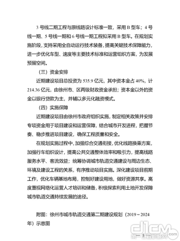附件:徐州市城市轨道交通第二期建设规划(2019-2024年)
