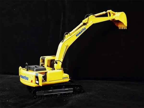 小松PC200挖机模型