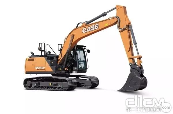 凯斯CX240C<a href=http://product.d1cm.com/wajueji/ target=_blank>挖掘机</a>