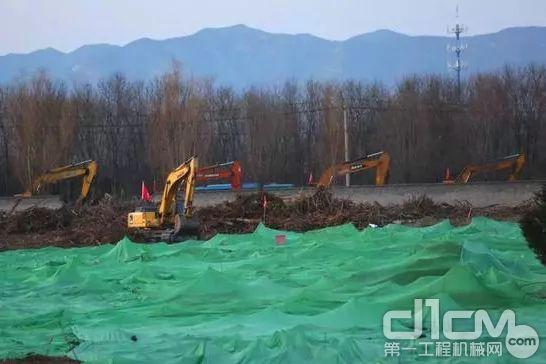 三一装备还参与了小汤山非典定点医院旧址修缮改造工程