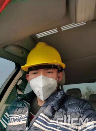 上汽红岩车队渣土运输队主管梅胜能