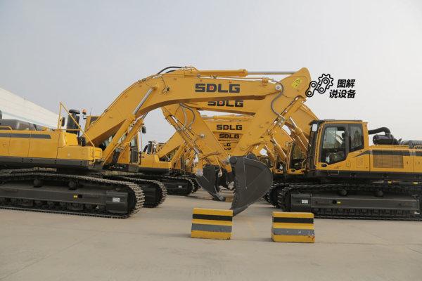 山东临工E6500F矿山型挖掘机