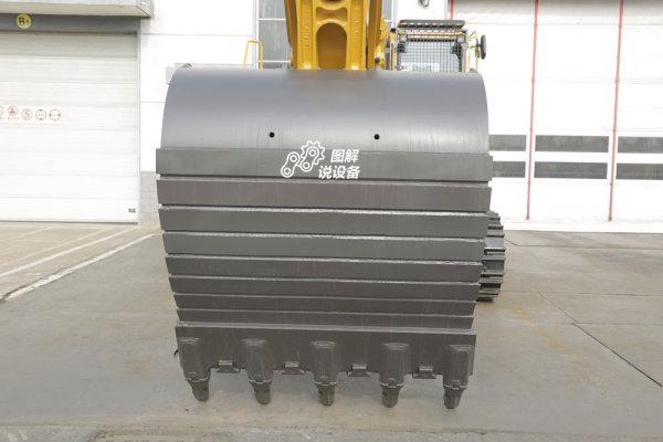 最大铲斗挖掘力276.5kN,最大挖掘深度7030mm。