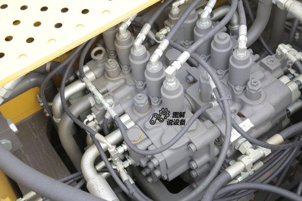 临工E6500F装配70吨级大流量主控阀。