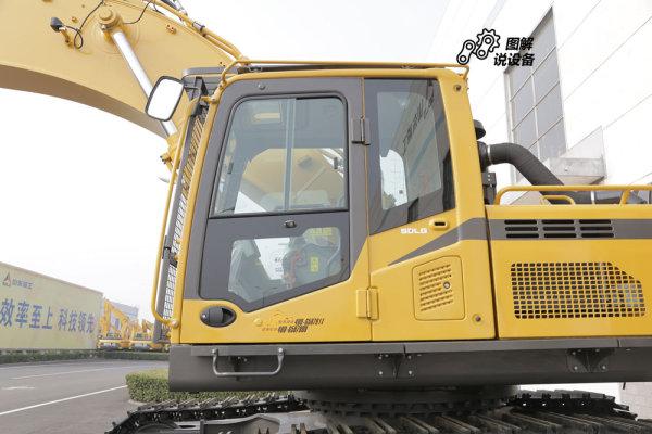 临工E6500F采用豪华驾驶室,人性化的减振设计。
