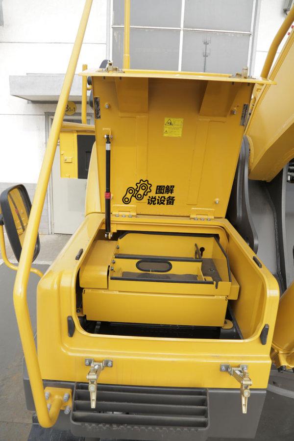 带气弹簧的工具箱。
