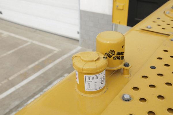 燃油箱容量685L。