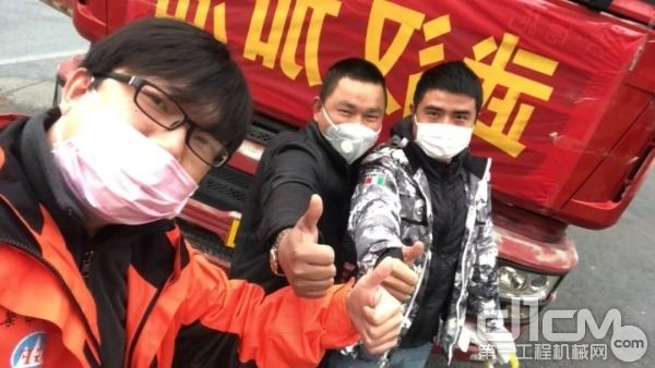 武汉吊装人一天募捐36万多善款购置物资送往基层组织