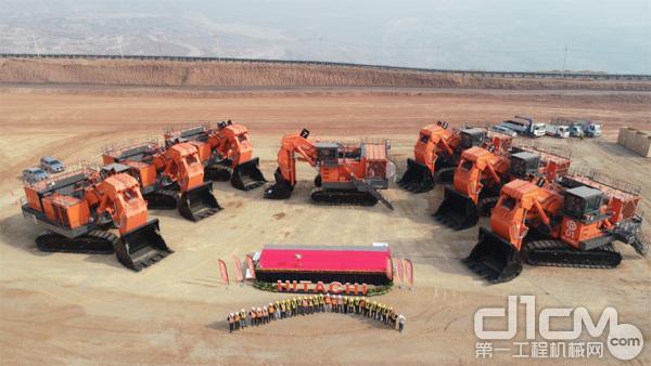 7台日立EX3600E-6LD 电驱动液压挖掘机