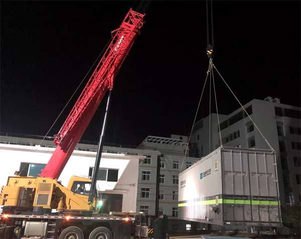盈峰环境医院污水处理设备连夜驰援岳阳县人民医院