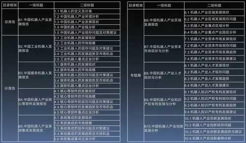 《中国机器人产业发展报告(2019)》内容截图