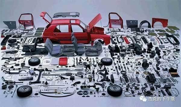 汽車的零配件一覽