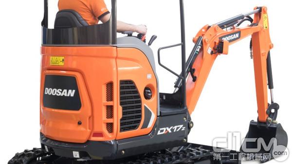斗山公司正在开发新的电动小型挖掘机产品