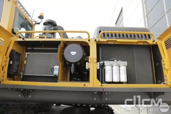 山东临工E6500F散热系统