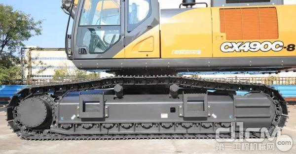 支重轮与托链轮均采用长效密封设计