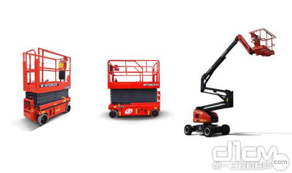 星邦重工 全新电驱剪叉GTJZ0407SE、GTJZ1414E和电驱曲臂GTZZ16EJ