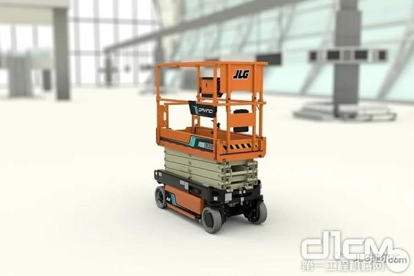 JLG业界首款全电动Davinci™剪式高空作业平台