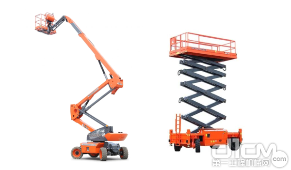 鼎力电动款臂式系列高空作业平台