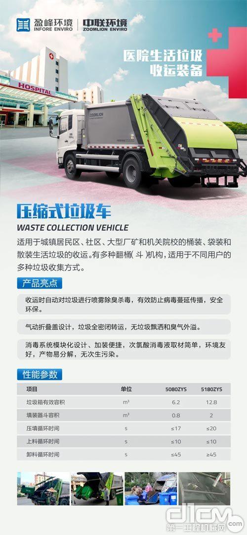 压缩式垃圾车产品介绍
