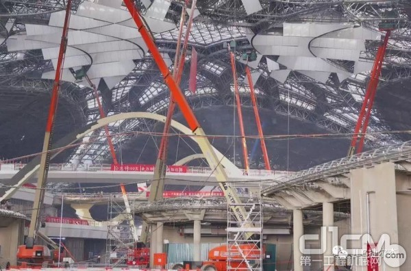 JLG参与北京大兴国际机场建设