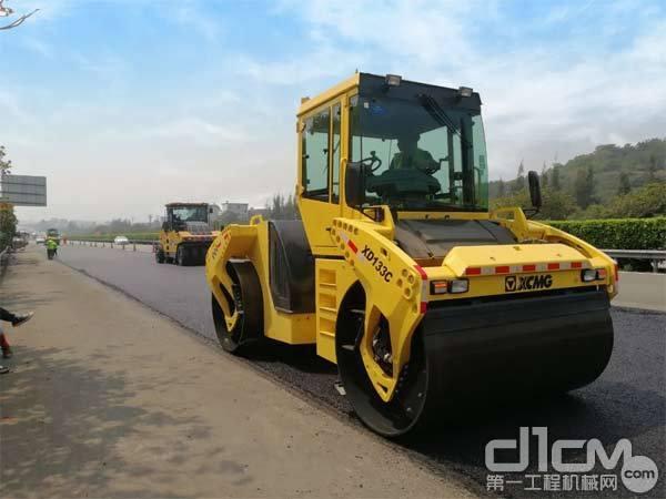 新品的XD133C双钢轮压路机