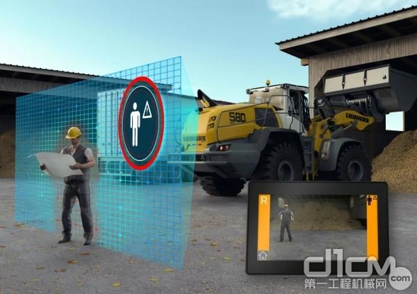 利勃海尔感应型人机安全检测系统