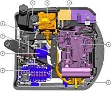 威克诺森挖掘机液压系统