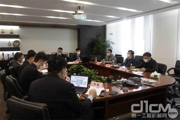 山东日照港集团有限公司领导一行到访小松中国