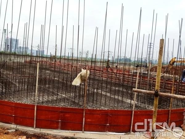 项目建设现场