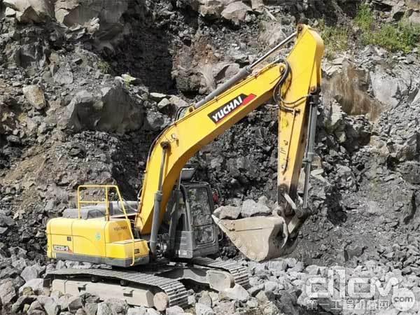 玉柴重工挖掘机